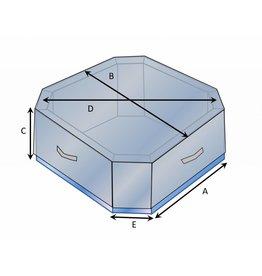 Bootzeil Schutzhülle auf Maß für Whirlpool 8-eckig