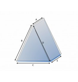 Bootzeil Schutzhülle auf Maß Dreieck