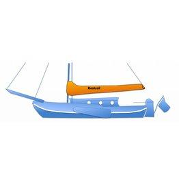 Baumpersenning für Plattbodenschiff