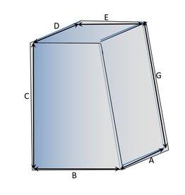 Quadratische Schutzhülle Typ 2 auf Maß