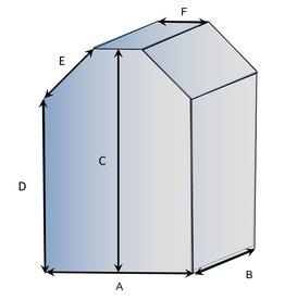 Bootzeil Vierkant vorm type 4 hoes op maat
