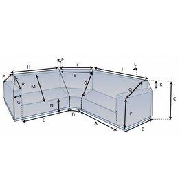 CustomX - Schutzhülle auf Maß für Loungebank Typ 12
