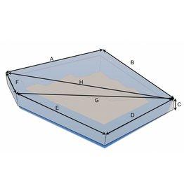 Maßgefertigte Schutzhülle für Sandkasten