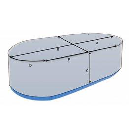 Maßgefertigte Schutzhülle oval