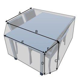 Bootzeil Schutzhülle für Tisch mit Stühlen