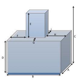 Bootzeil Würfelförmige Schutzhülle auf quadratischer Schutzhülle