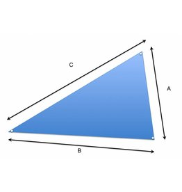 Tuch auf Maß Dreieck
