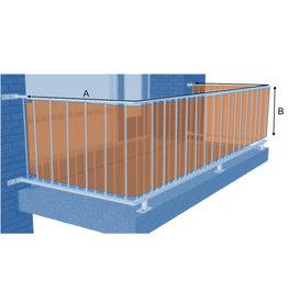 Wind & privacy scherm, balkon & ballustrade