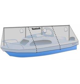 Winterdekzeil kajuitboot (met railing)
