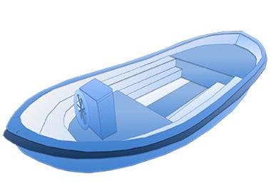 Schaluppe Rettungsboot