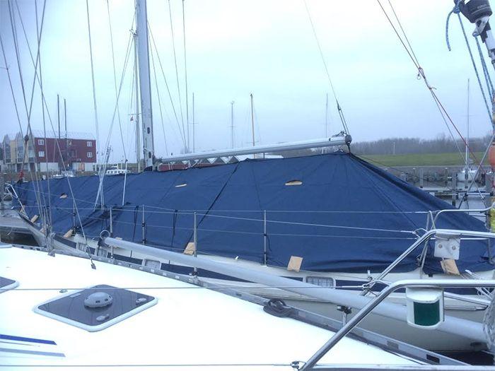 Stormschade aan boten valt mee