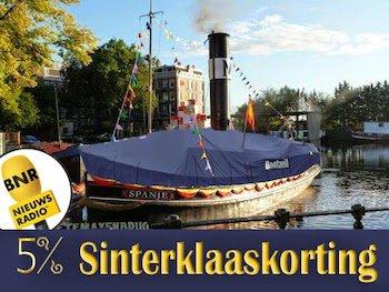 Sinterklaas actie bij Bootzeil