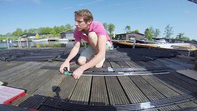 Maatzeil op uw sloep: zie hier het filmpje hoe de 'Amstel' voor open boten op maat wordt gemaakt