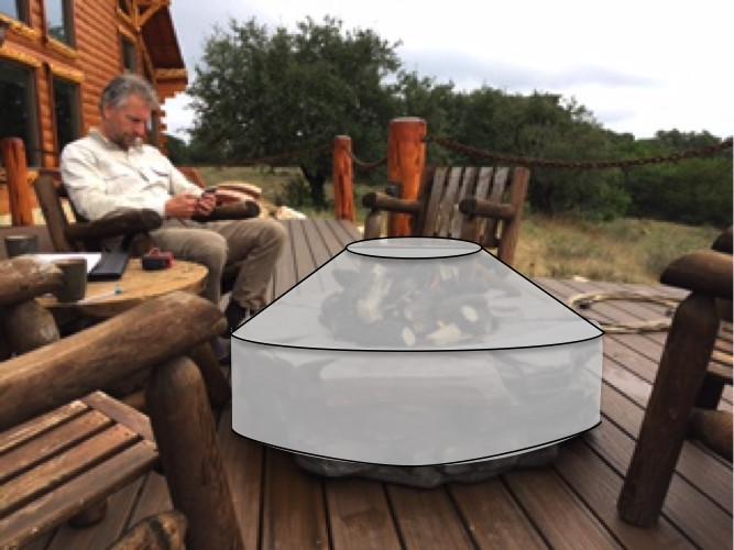 Hoesjes bestellen voor tuin met buitenkeuken, vuurcirkel, outdoor
