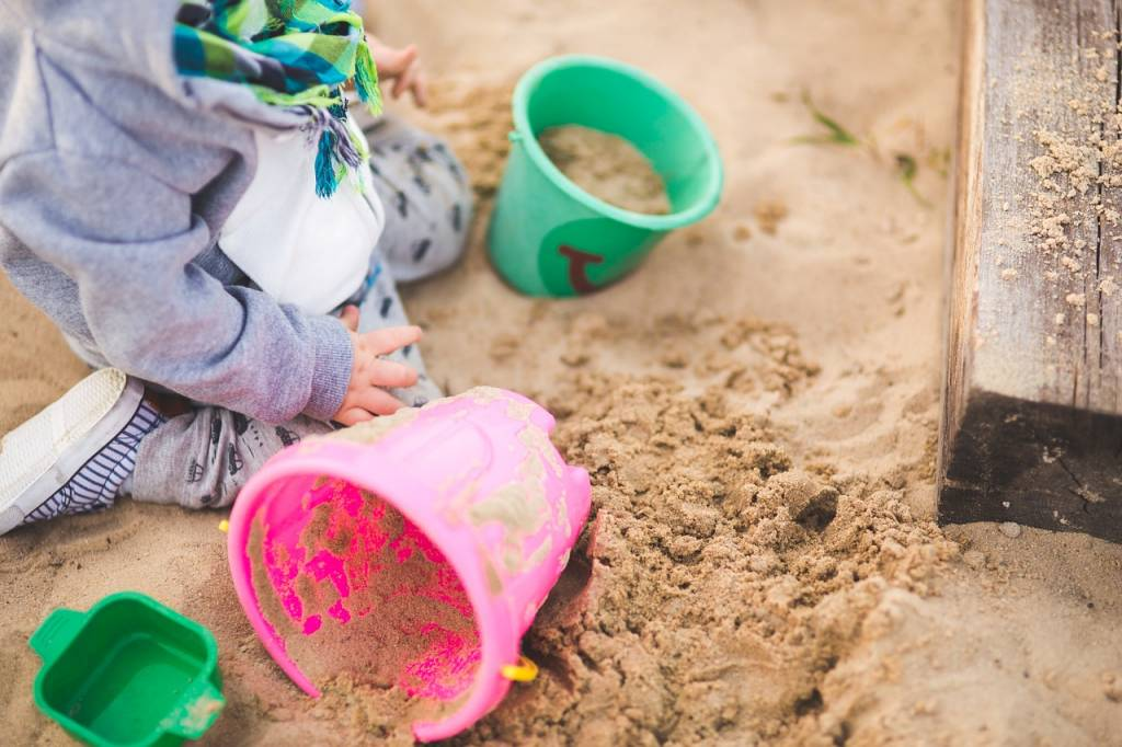 Zandbak kinderdagverblijf poepvrij