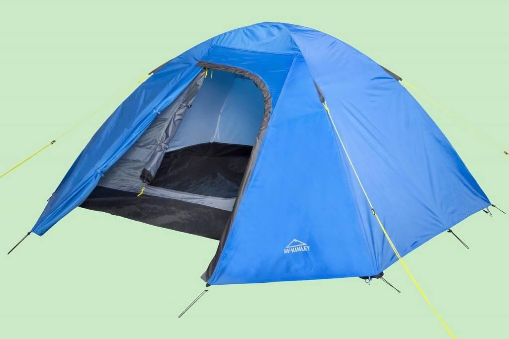Das Zelt ist wieder bereit