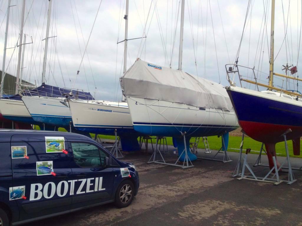 Winterabdeckung Bavaria Cruiser 33