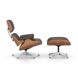 Vitra Vitra Eames Lounge Chair & Ottoman- American Cherry