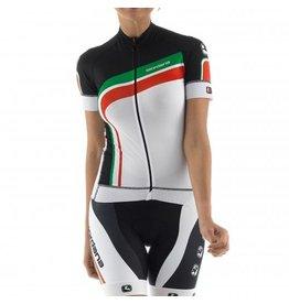Giordana Girodana Trade FR_C Flash zwart dames fietsshirt Italie MT XL