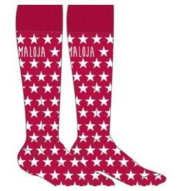 Maloja Maloja Dames sokken SoldanelloM Snow long roze Maat S/M 36-39