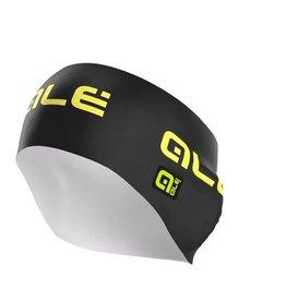 Alé Dames haarband zwart/fluo geel