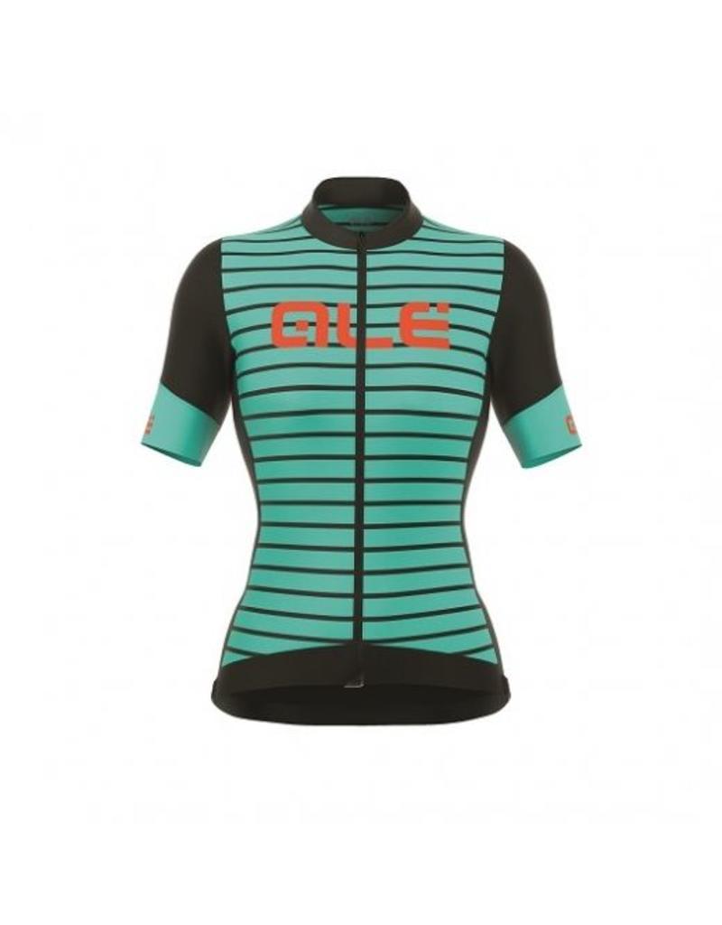 Alé Alé R-EV1 Marina shirt zwart turquoise