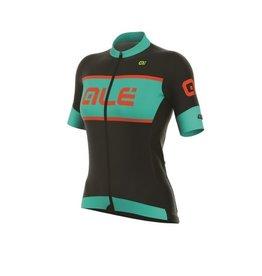 Alé Alé fietsshirt R-EV1 Master zwart/ turquoise/lollipop