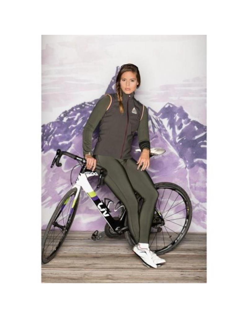 Maloja TorontoM charcoal Dames fietsbroek