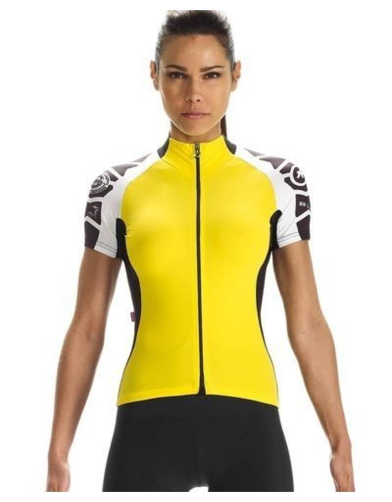 Assos Assos SS.laalalaiJersey_evo7 Lady in de kleur Yellow Volt
