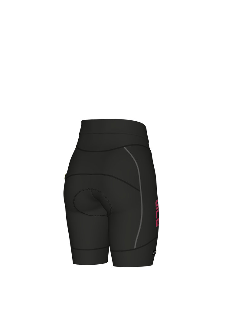 Alé Agonista 2 Lady Shorts Black-Fluo Pink