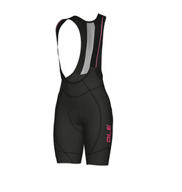 Alé Agonista 2 Lady Bibshorts Black-Fluo-Pink