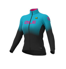 Alé Maglia Donna Jersey PR-S onda micro black/light blue