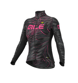 Alé JERSEY GRAPHICS PRR SUNSET (BLACK-FLUO PINK)