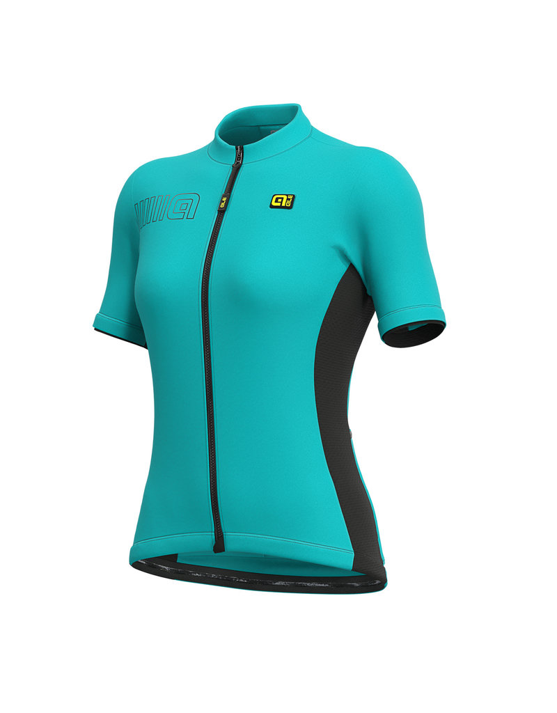 Alé SS Jersey Solid Block Turquoise