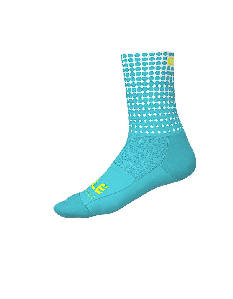 Alé Dots Summer Socks Turquoise