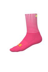 Alé Dots Summer Socks Fluo Pink