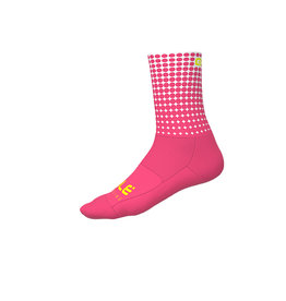 Alé Dots Summer Socks Fluo Pink