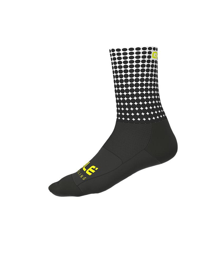 Alé Dots Summer Socks Black-White