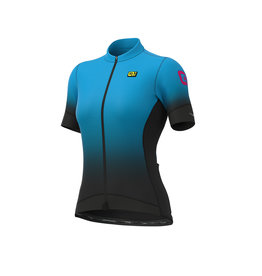 Alé Dots Jersey Graphics PR-S Black-light blue