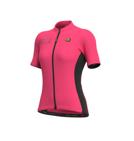 Alé SS Jersey Solid Block Fluo Pink Mt M