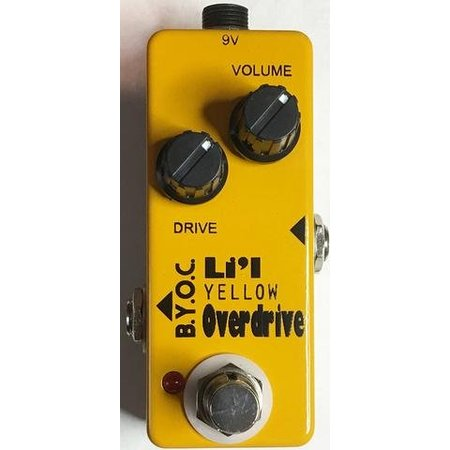 Build Your Own Clone Li'l Yellow OD kit