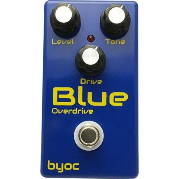 Build Your Own Clone Blue Overdrive