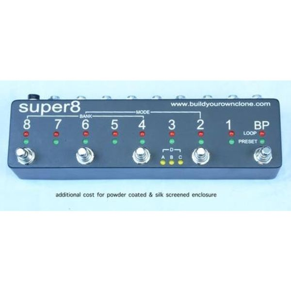 Build Your Own Clone Super 8 Programmable Looper