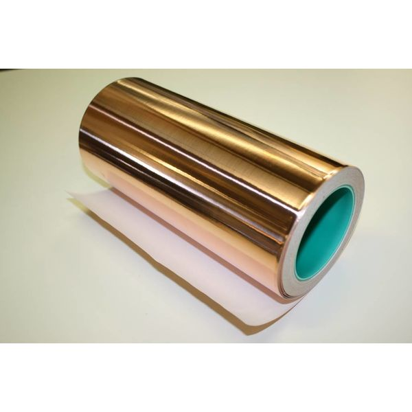 De Gier Guitars Copper foil 250mm x 25m roll