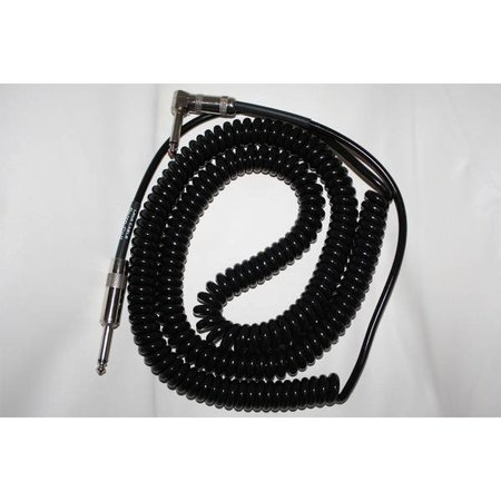 Lava retro coil cable 20ft zwart