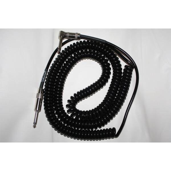 Lava retro coil cable 20ft zwart