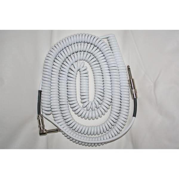 Lava super coil cable 35ft white