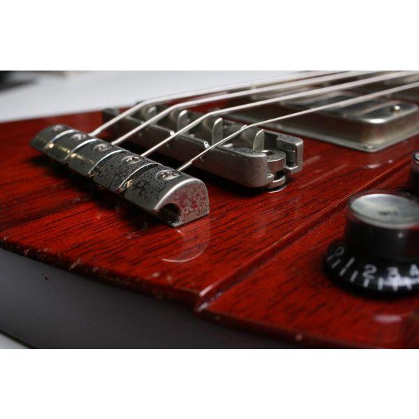 De Gier Guitars Lowlander bridge