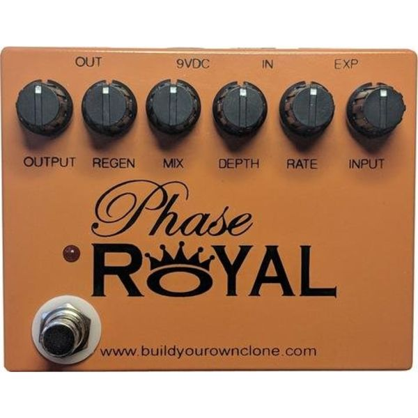 Build Your Own Clone Phase Royal The 4-Stage JFET Module