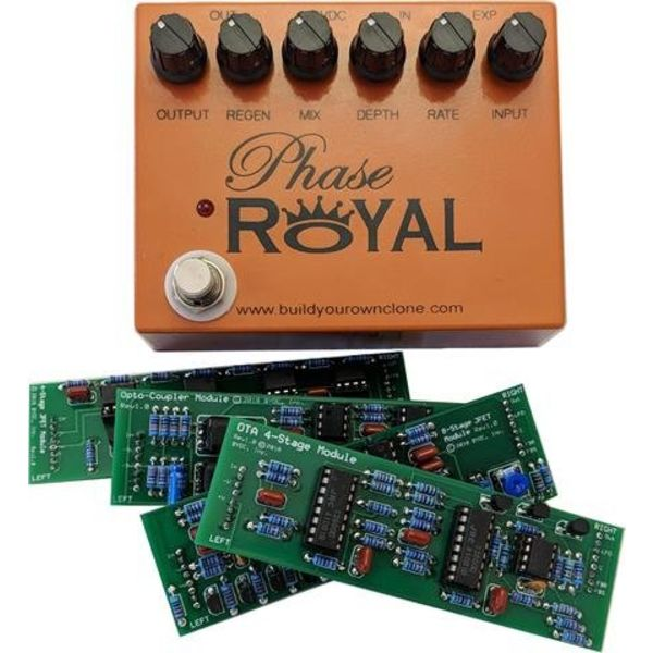 Build Your Own Clone Phase Royal Optocoupler Module